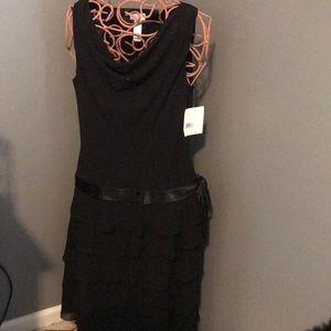 NWT Black Liz Claiborne Cocktail Dress